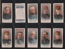 Collectables Tobacco cards cigarette cards Allied Army Leaders